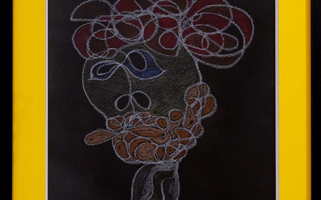 Yasmina El Kadaoui, artista de Tetuán, expone su pintura en Ceuta